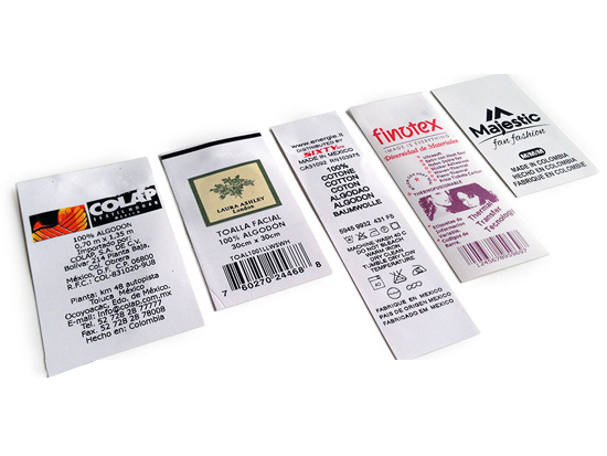 Wash Care Laundry Labels